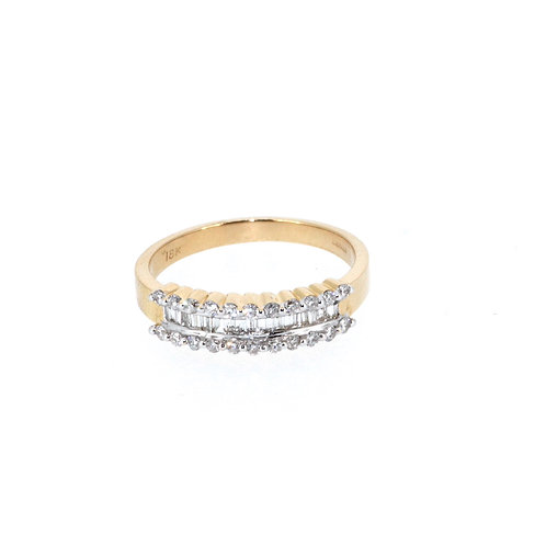 Fancy Baguette And Round Brilliant Eternity Ring