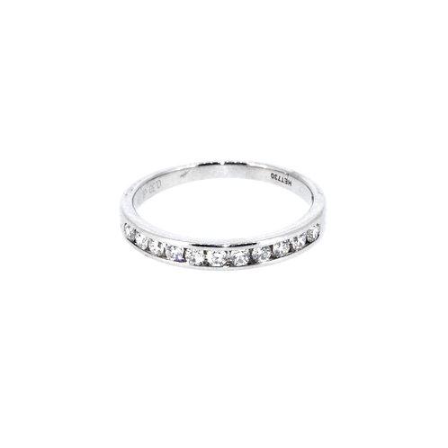 0.30ct Diamond Half Eternity Ring