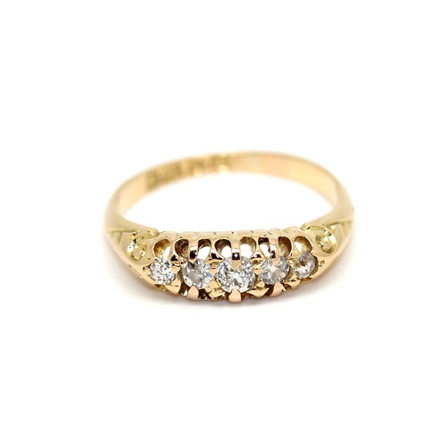 Victorian Five Stone Ring