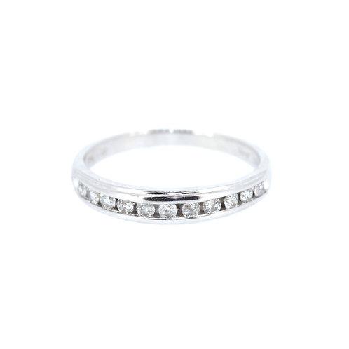 Diamond Half-Eternity Ring
