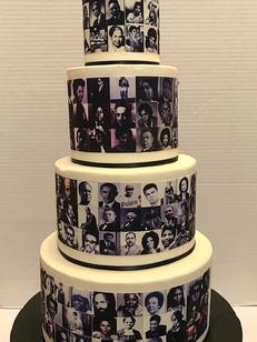 black history month cake