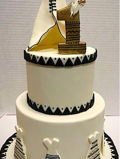 wild one birthday cake