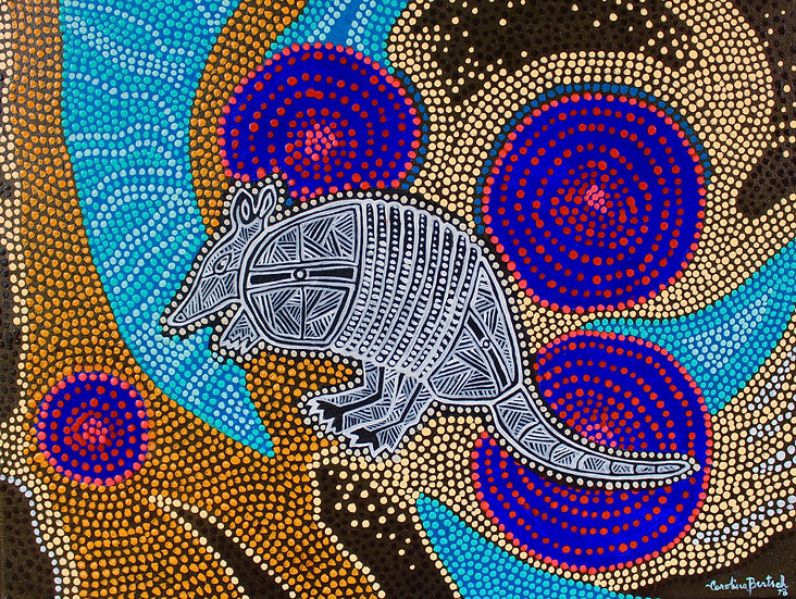 """Aboriginal Nine-banded Tatu"""