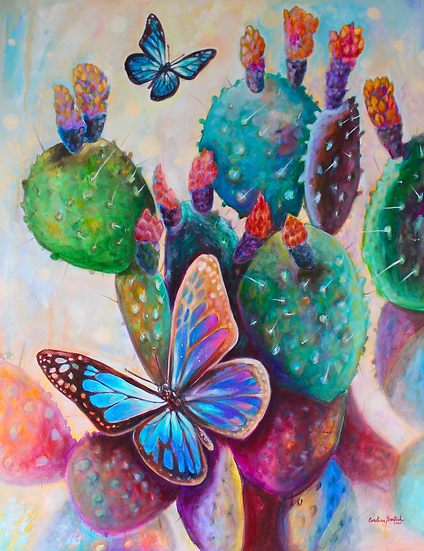 """""""Cactus e Borboletas"""" / """"Cactus and Butterflies"""""""