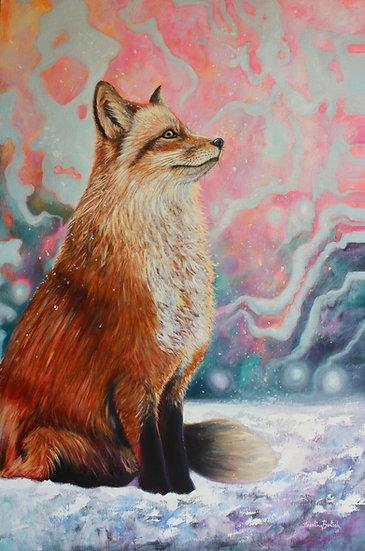 """""""Red Fox Dreams I"""" /""""Sonhos da Raposa Vermelha I"""""""