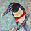 "Thumbnail: ""Chestnut-eared aracari toucan"""
