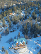 Ariel View of Skinner Creek Guest Ranch