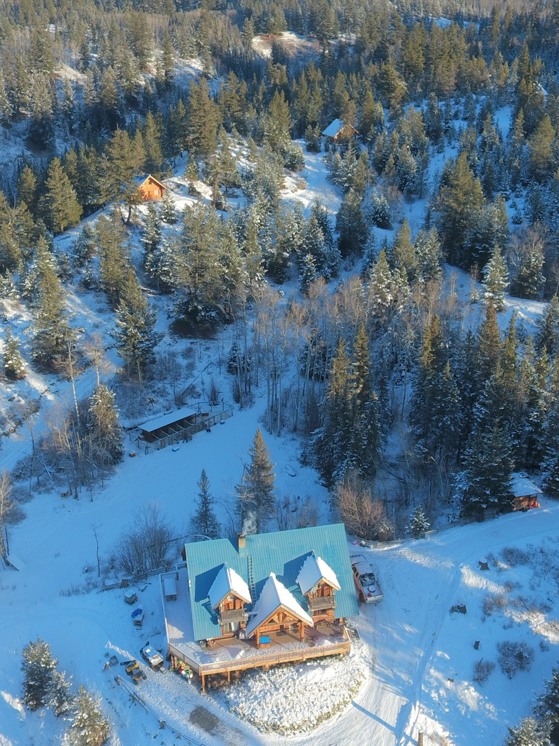 Ariel View of Skinner Creek Guest Ranch