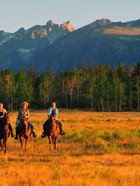 Riding from Skinner Creek lodge