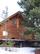 Cabin 3 front view