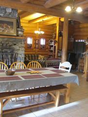 Dining Area main lodge