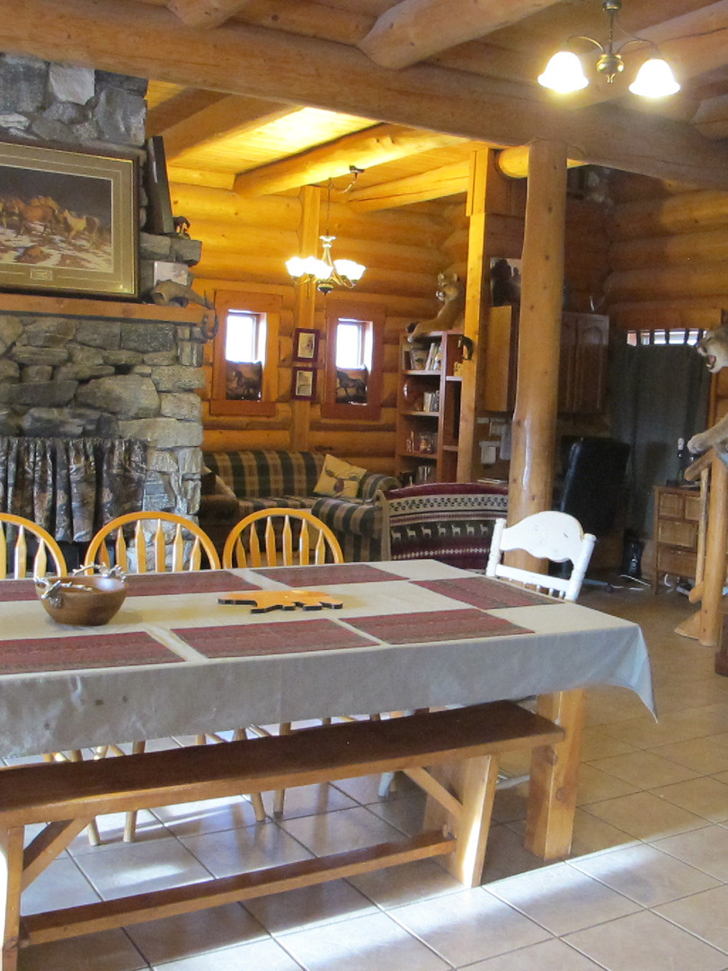 Dining Area main lodge