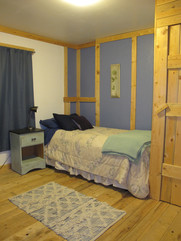 Downstairs bedroom Skinner Creek