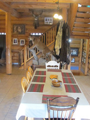 DIning Area Skinner Creek Main lodge