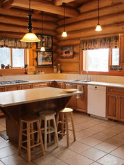 Kitchen with a view Skinner Creek Guest