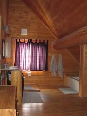 Main lodge upstairs bathroom Skinner Cre