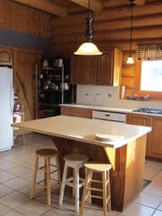 open kitchen Skinner Creek Guest Ranch