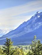 Niut range view from Skinner Creek kitch