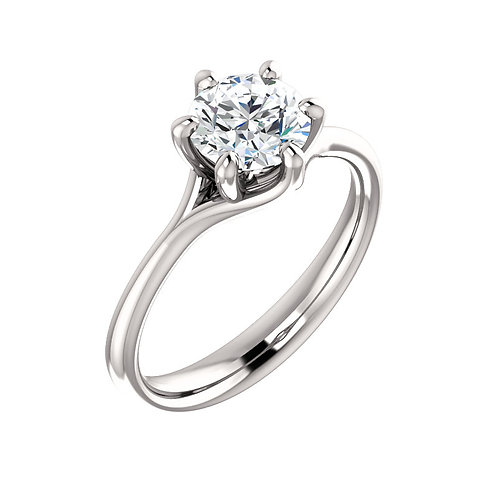 Solitaire Engagement Ring 122118