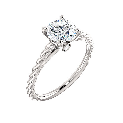 Solitaire Engagement Ring 122676