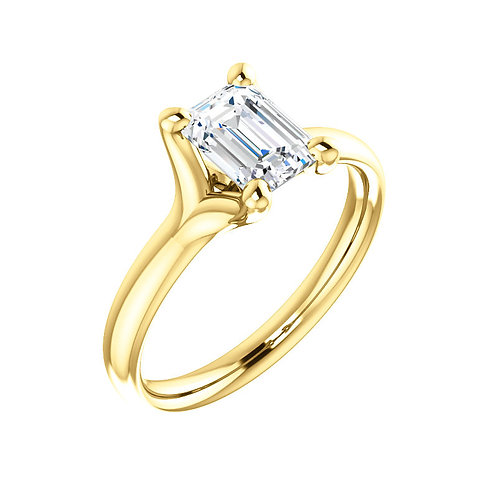 Solitaire Engagement Ring 122218