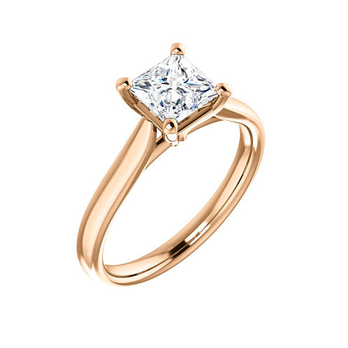 Solitaire Engagement Ring 122089