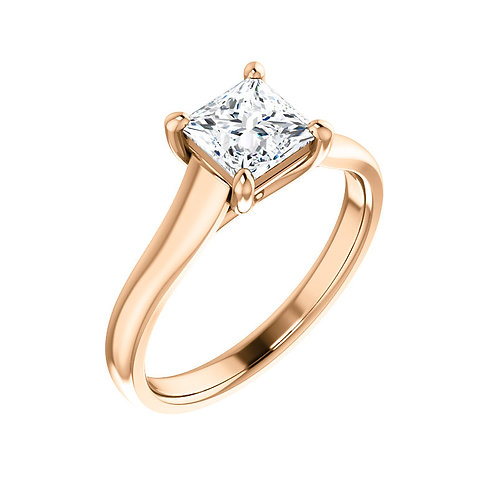 Solitaire Engagement Ring 122099