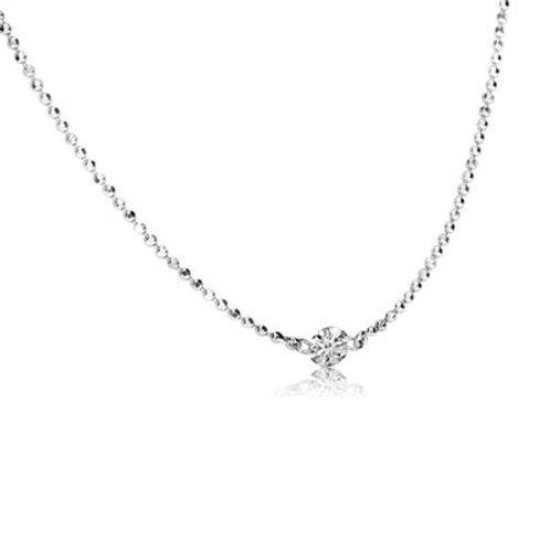 SINGLE DASHING DIAMOND NECKLACE