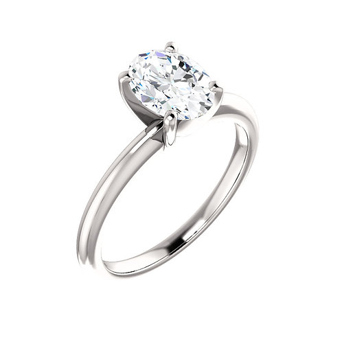 Solitaire Engagement Ring 123213