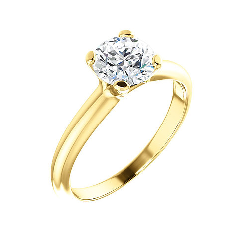 Solitaire Engagement Ring 122005