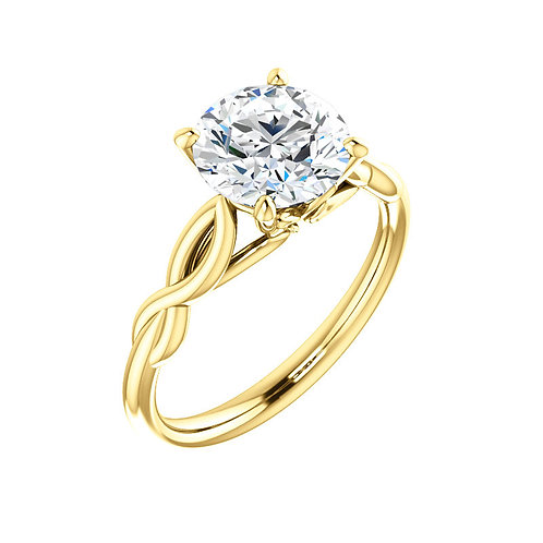 Solitaire Engagement Ring 122705
