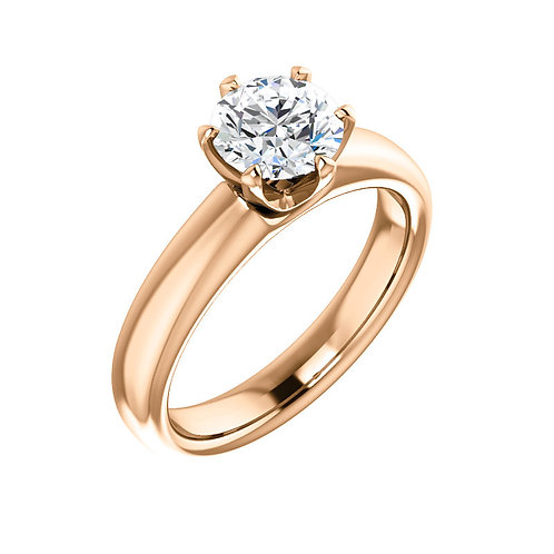 Solitaire Engagement Ring 122011