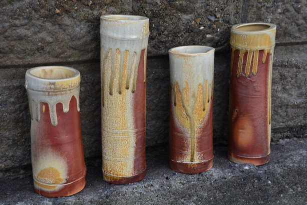 Woodfired Vases