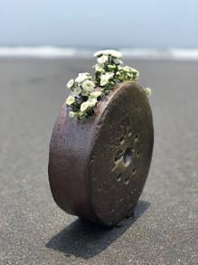 Woodfired Wheel Vase