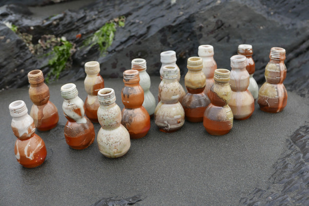 Woodfired Medicine Bottles
