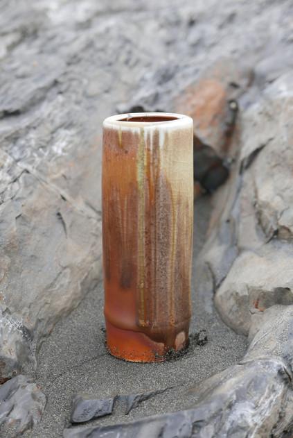 Woodfired Bamboo Vase
