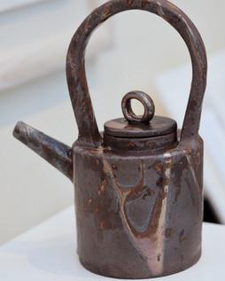 Gas Fired Tea Pot