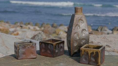 Woodfired Sake Set