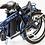 CYCLA Easy azul plegada