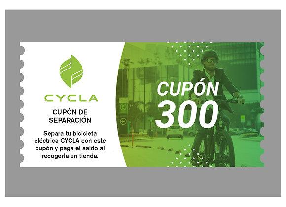 Cupón 300