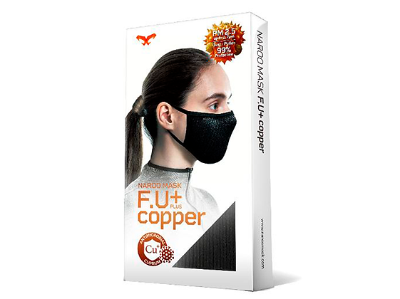 Mascarilla Deportiva Naroo Mask FU+ Copper