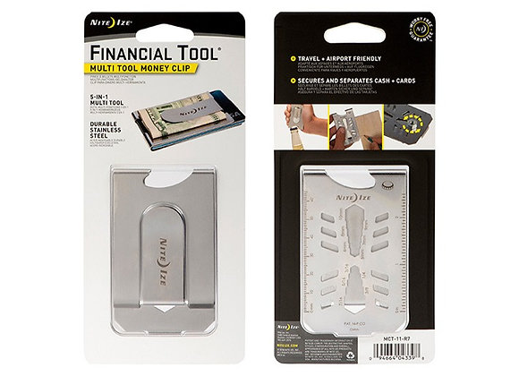 Money Clip - Multi Tool 5 en 1