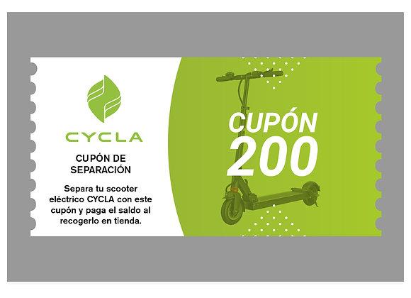 Cupón 200