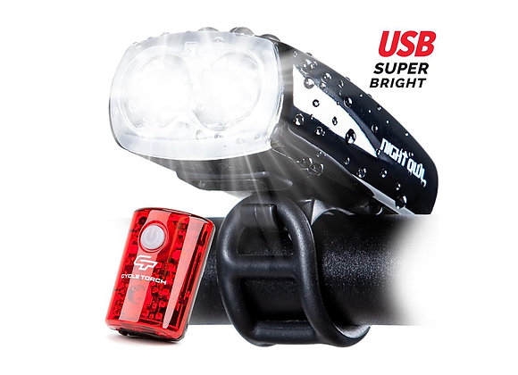 Luces Cycle Torch Night Owl (2 unidades)