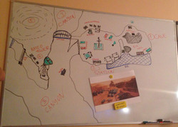 Cave location sketch