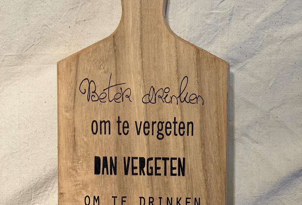 hout plankje