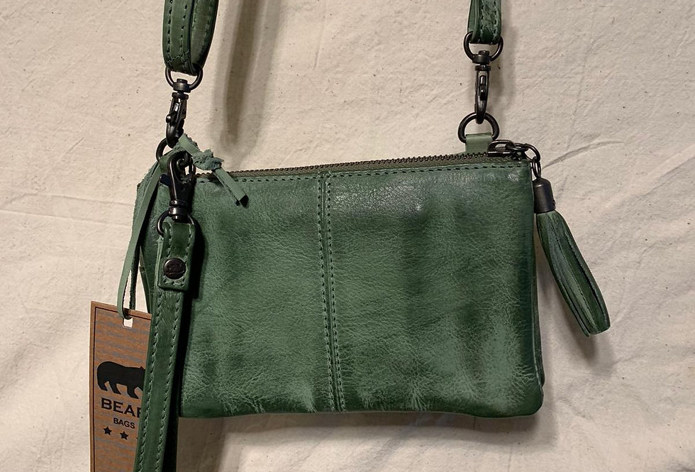 schouder tas groen