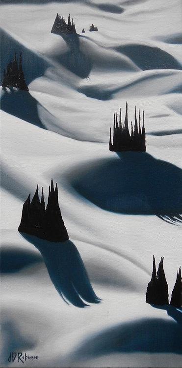 Cascading Shadow Study 12x24