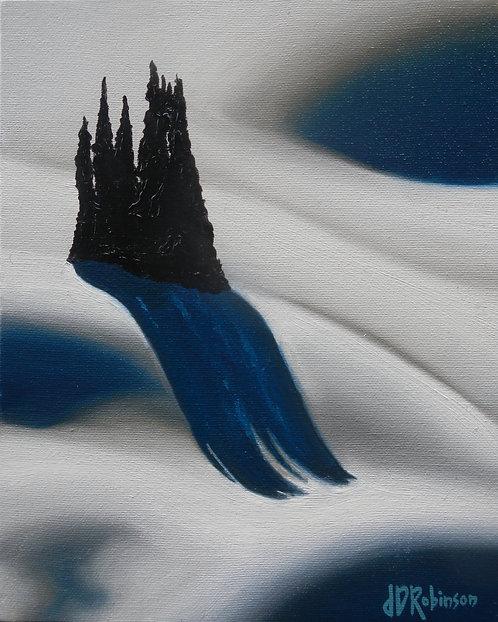 Cascading Shadow Study 8x10