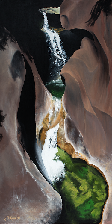 """The Hidden Path"" Original Painting"